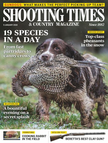 Shooting Times & Country Magazine January 09, 2019 00:00
