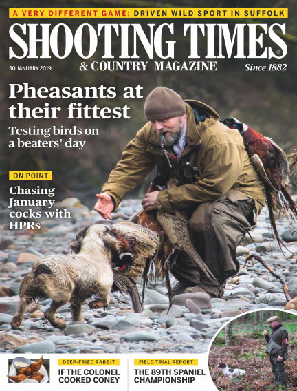 Shooting Times & Country Magazine January 30, 2019 00:00