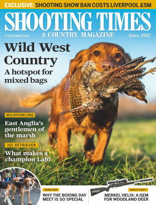 Shooting Times & Country Magazine Dec 27 2019
