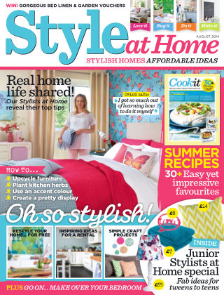 Style at Home August 2014