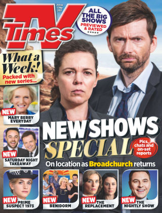 TV Times Magazine 25th February 2017
