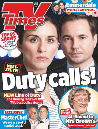 TV Times Magazine 25th March 2017
