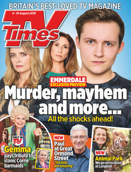 TV Times July 31, 2018 00:00