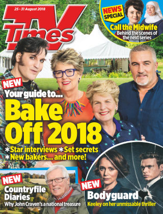 TV Times 25th August 2018