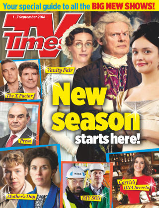 TV Times 1st September 2018