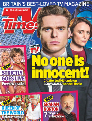 TV Times 22nd September 2018