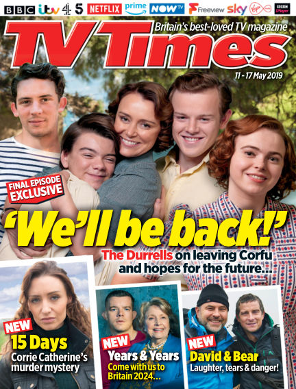 TV Times May 07, 2019 00:00