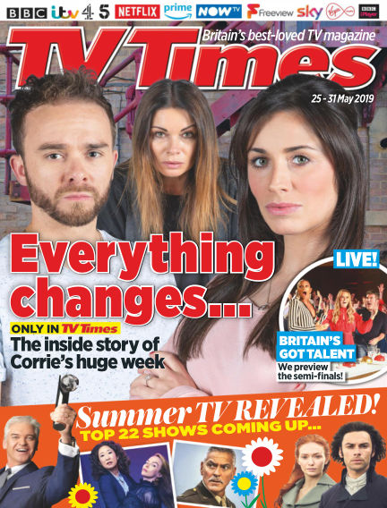 TV Times May 21, 2019 00:00