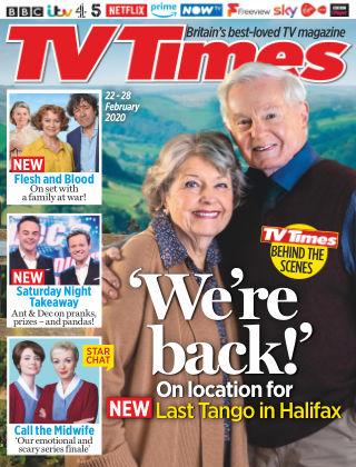 TV Times Feb 22 2020