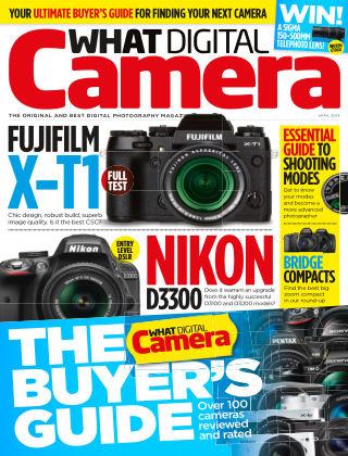 What Digital Camera Magazine April 2014
