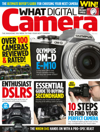 What Digital Camera Magazine May 2014