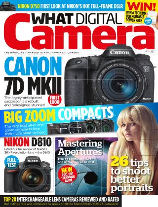 What Digital Camera Magazine November 2014