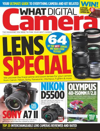 What Digital Camera Magazine March 2015
