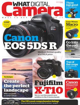 What Digital Camera Magazine September 2015