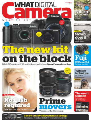 What Digital Camera Magazine October 2015