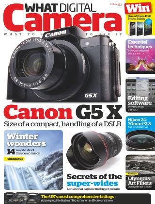 What Digital Camera Magazine February 2016