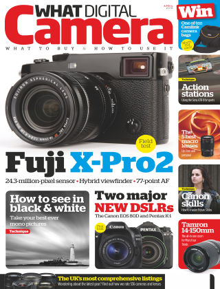 What Digital Camera Magazine April 2016