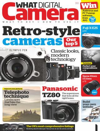 What Digital Camera Magazine July 2016