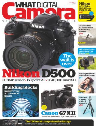 What Digital Camera Magazine October 2016