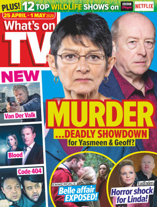 What's on TV Apr 25 2020
