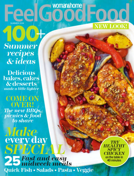 Woman & Home Feel Good Food Magazine September 25, 2014 00:00