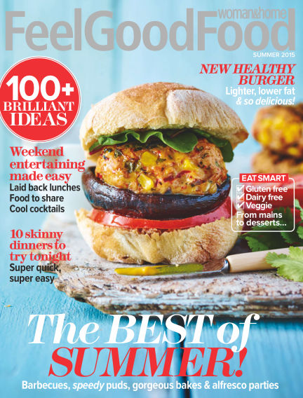 Woman & Home Feel Good Food Magazine August 25, 2015 00:00