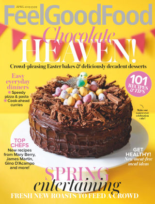 Woman & Home Feel Good Food Magazine Apr 2019
