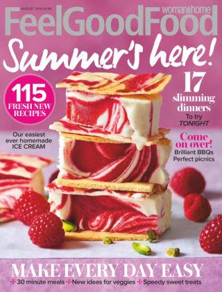 Woman & Home Feel Good Food Magazine Aug 2019