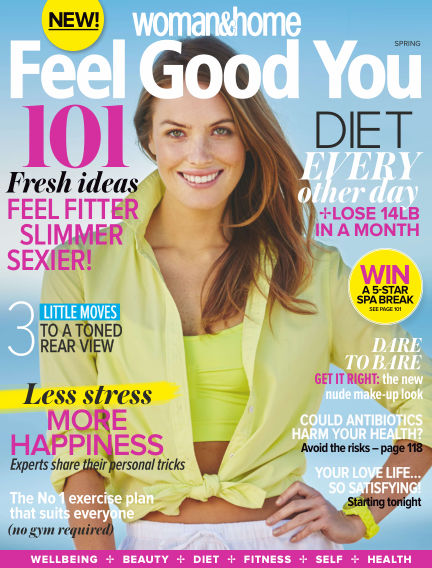 Woman & Home Feel Good You Magazine July 14, 2015 00:00