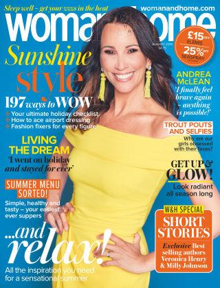 Woman & Home Feel Good You Magazine August 2019