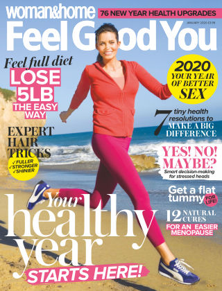 Woman & Home Feel Good You Magazine January 2020