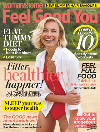 Woman & Home Feel Good You Magazine July 2020