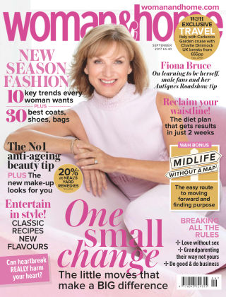 Woman & Home Magazine Sep 2017