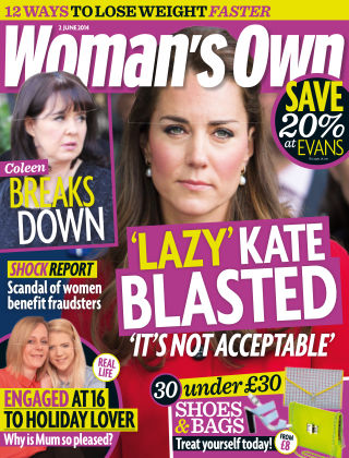 Woman's Own 2nd June 2014