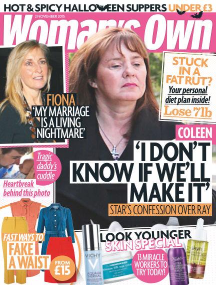 Woman's Own November 03, 2015 00:00