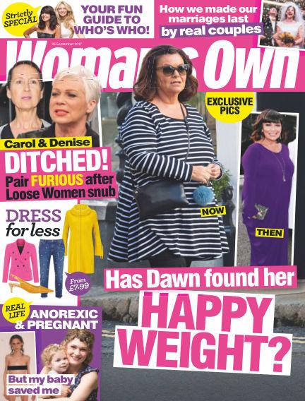 Woman's Own September 19, 2017 00:00