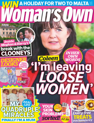 Woman's Own 10th September 2018