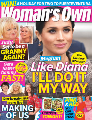 Woman's Own 11th March 2019