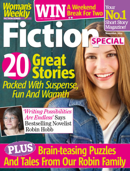 Woman's Weekly Fiction Special November 04, 2014 00:00