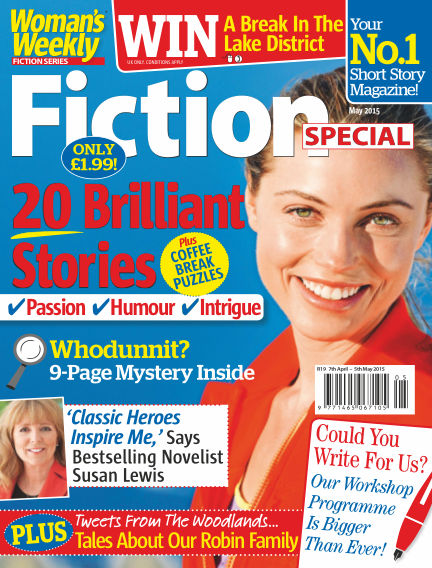 Woman's Weekly Fiction Special May 05, 2015 00:00