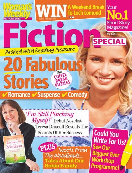 Woman's Weekly Fiction Special July 07, 2015 00:00