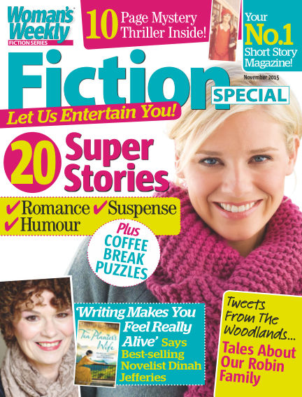 Woman's Weekly Fiction Special November 03, 2015 00:00