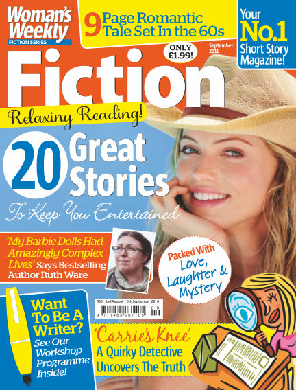 Woman's Weekly Fiction Special August 02, 2016 00:00