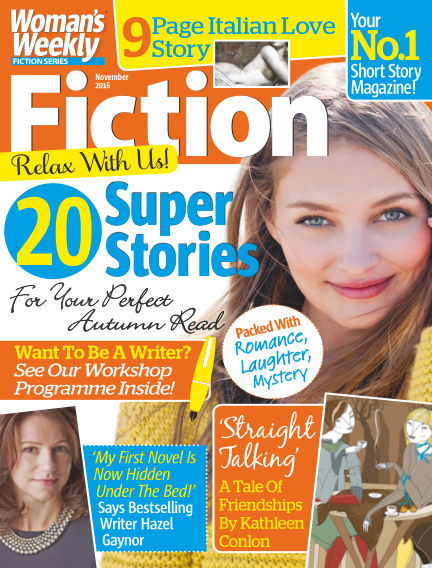 Woman's Weekly Fiction Special October 04, 2016 00:00