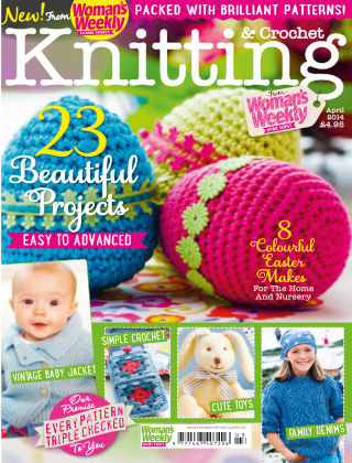 Woman's Weekly Knitting & Crochet April 2014