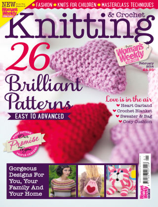 Woman's Weekly Knitting & Crochet February 2014