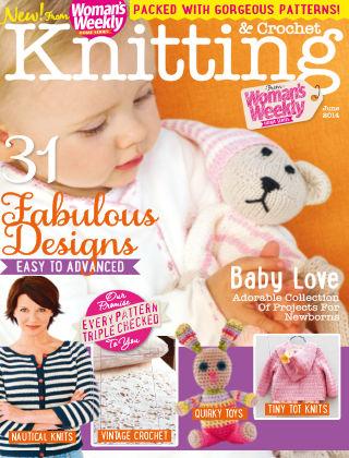 Woman's Weekly Knitting & Crochet June 2014