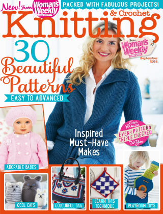 Woman's Weekly Knitting & Crochet September 2014