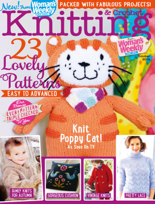 Woman's Weekly Knitting & Crochet October 2014