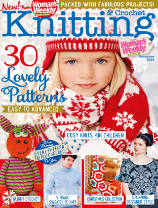 Woman's Weekly Knitting & Crochet December 2014